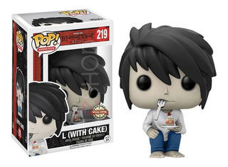 Funko Pop L Death Note With Cake Pastel Special Edition