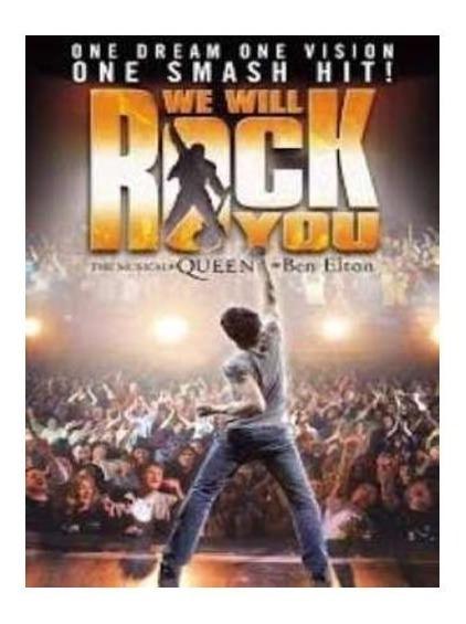 Queen We Will Rock You Dvd Nuevo