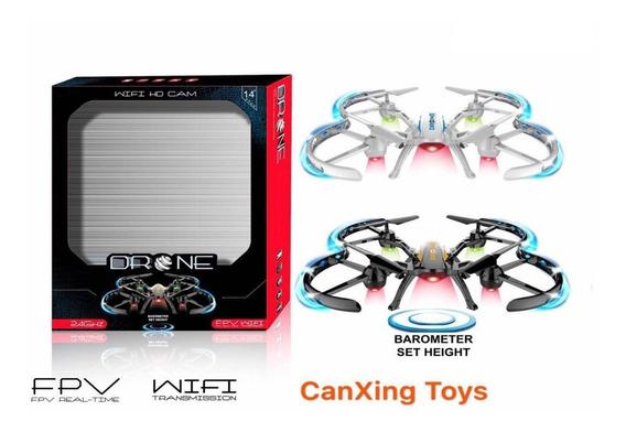 Drone Ly839 Camera Wifi Ao Vivo Quadricoptero Led Noturna