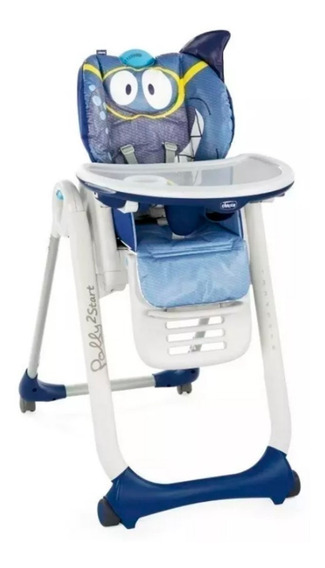Silla Comer Bebe Polly 2 Star Chicco Ultracompacta Babymovil