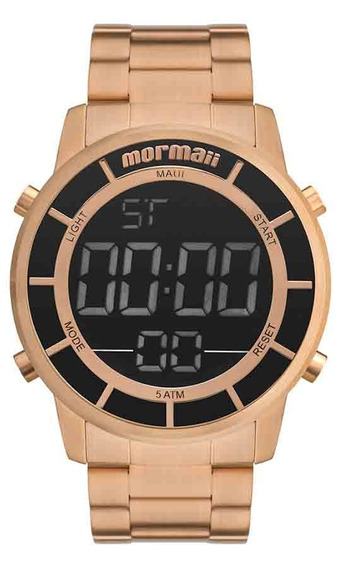Relógio Mormaii Masculino Mobj3463df/4j Rose Digital