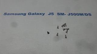 Kit Parafusos Samsung Galaxy J5 Sm J500m/ds