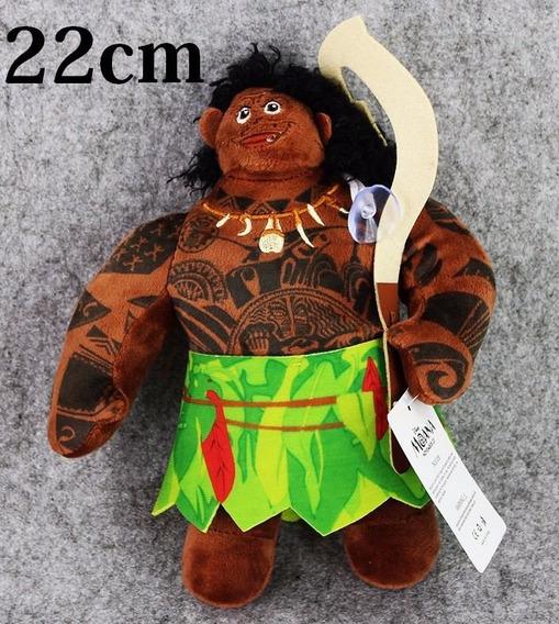 Boneco Pelucia Maui 22cm Filme Moana - Frete Grátis Original