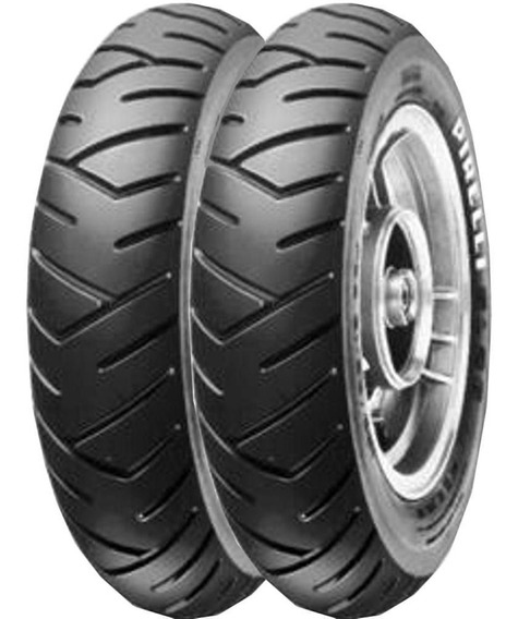 Par Pneu Vespa Px 150 350-10 + 350-10 59j Tl Sl26 Pirelli