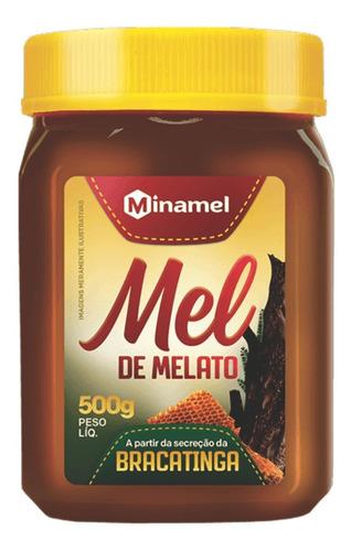 Mel Medicinal Bracatinga Minamel 500g - Mel Puro Exportação