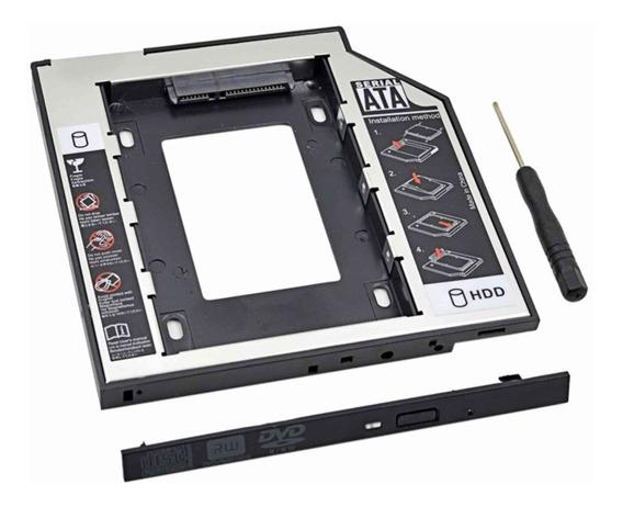 Adaptador Caddy 9,5mm Sata Segundo Hd Notebook Lenovo Acer