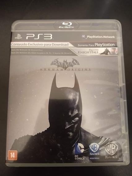 Batman Arkam Origins Ps3 Mídia Fisica Original Perfeito