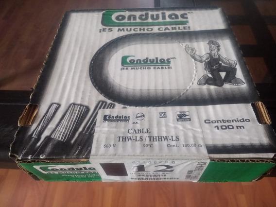 Cable Condulac Calibre 12 Awg. Blanco Negro Verde Rojo