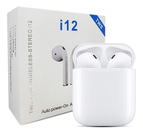 Audífonos Inalambricos Bluetooth AirPods iPhone Android I12