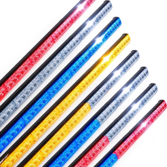 Barra Led Con Funcion Estrobo Skp 108w - 35in/90cm Rzr