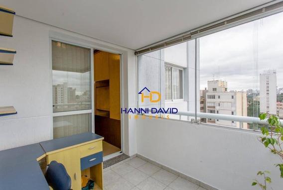Lindíssimo Apartamento À Venda Em Perdizes Com 1 Suíte, 1 Vaga - 40 M² - Lazer Completo - Ap2826