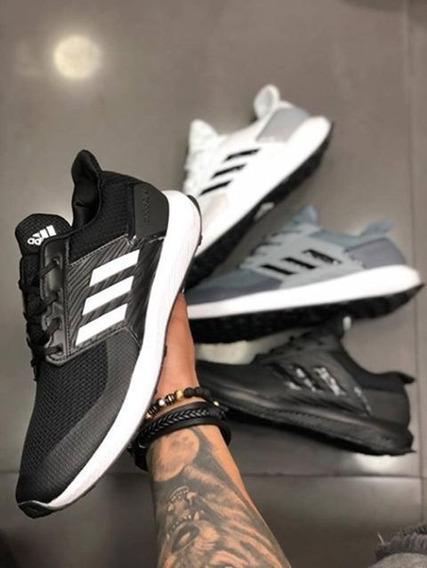 Tenis adidas Rapida Run Hombre Zapatillas Original