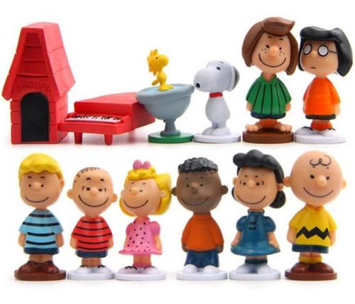 Imagen 1 de 6 de Snoopy Charlie Brown Coleccion Set 12 Piezas Originales