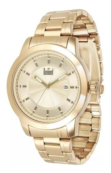 Relógio Masculino Dumont Du2315ba/4d, C/ Garantia E Nf