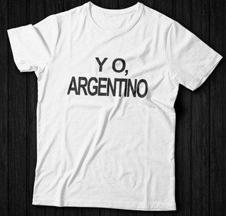 Remeras Con Frases Argentinas Hombre En Mercado Libre Argentina
