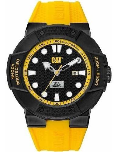 Relógio Caterpillar Mergulho Shockmaster Amarelo Se16127117