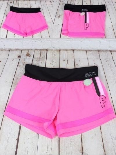 Short Victoria Secret Pink - Coral Talle Xsmall Original !!