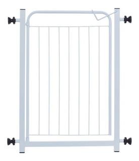 Grade De Ferro Para Porta + Extensor De 10cm