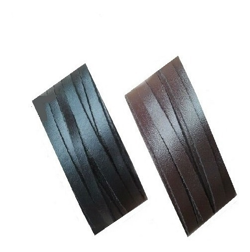 Bracelete Couro Legítimo - 3cm - Preto, Marrom Ou Natural