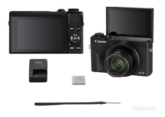 Canon Powershot G7 X Mark Ii Digital Camera (preto)