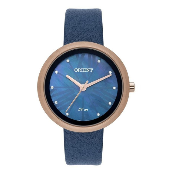 Relógio Orient Feminino Ref: Frsc0013 D3dx Fashion Rosé