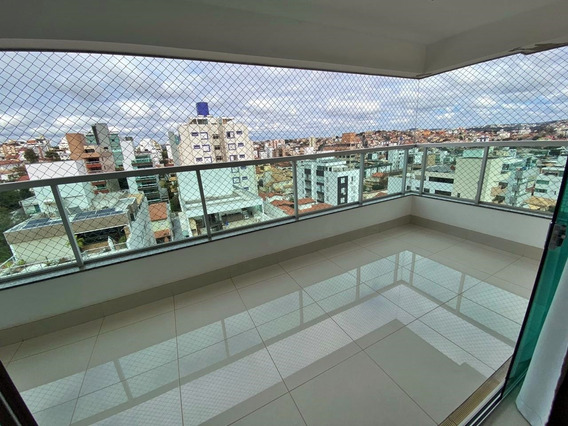 Excelente Apartamento De 4 Quartos, Com Uma Suite Ampla, 3 Vagas De Garagem Livres, Prédio Com Lazer Completo. - 952