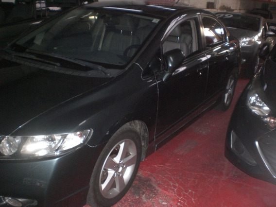 Honda Civic 1.8 Lxs Flex Aut. 4p Blindado 2009/2010