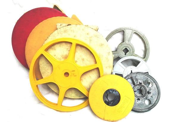 15 Bobinas Y Carretes Para Proyector Pelicula 8mm