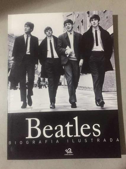 Livro The Beatles Biografia Ilustrada Novo, Raro