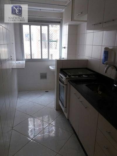 Apartamento Com 3 Dormitórios À Venda, 60 M² Por R$ 255.000 - Vila Homero Thon - Santo André/sp - Ap4888