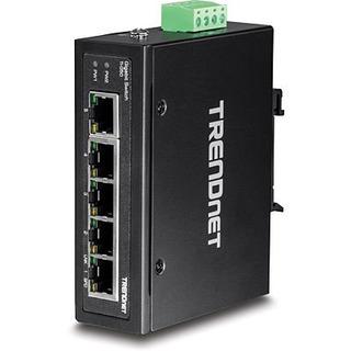 Switch Industrial Riel Din 5 Puertos Gigabit Hardened Ip30