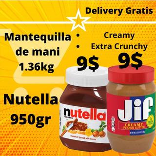 Nutella Ferrero 950gr, Oreos, Chips Ahoy Y Mas
