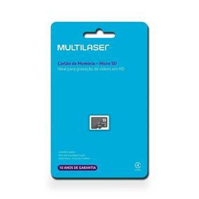 Cartão De Memória 64 Gb Com Leitor Ubs Pendrive Multilaser