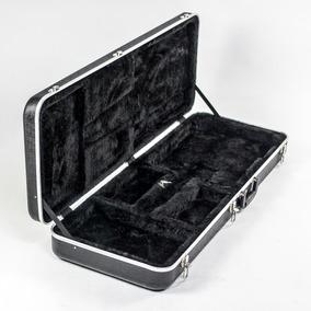 Estojo Case Custom Para Guitarra Abs Profissional Leve