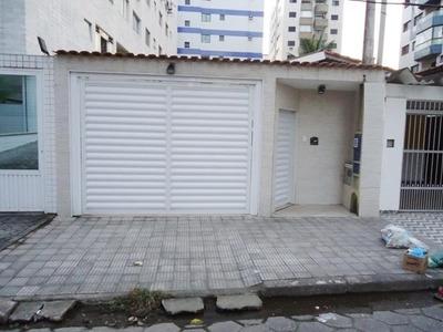Casa Térrea A 100 Metros Da Praia 3 Dormitórios Grande Com Edicula Com Churrasqueira - Ca0027
