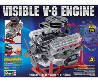 Kit Motor Revell V-8 A Escala 1:4