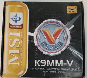 Msi K9mm-v Placa Mãe Na Caixa
