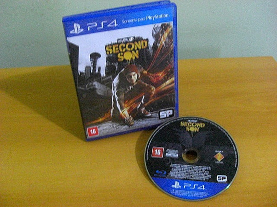 Infamous Second Son Original Dublado || Ps4
