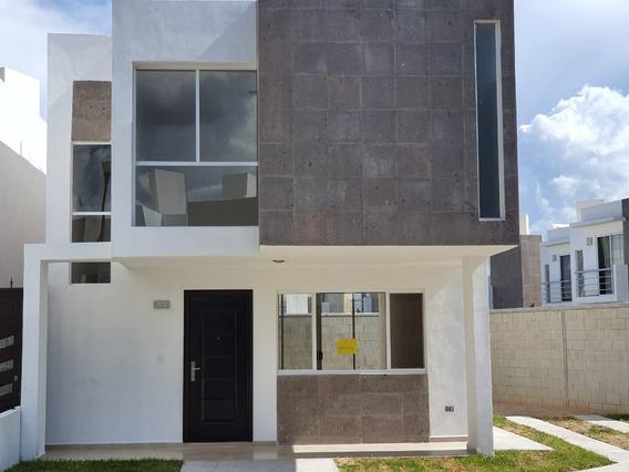 Hermosa Casa Nueva De 3 Recamaras