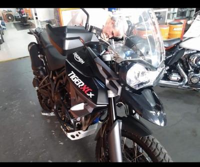 Triumph Tiger 800 Xc 2016 Troco Harley Davidson Fat Boy