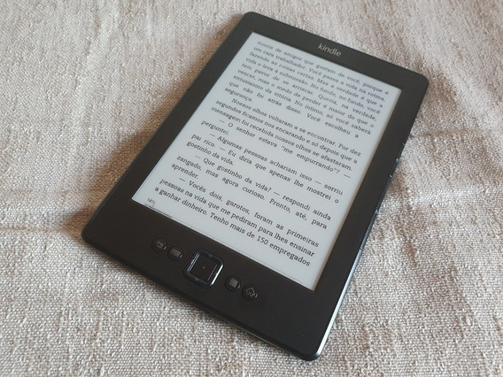 Kindle 4ª Geração Com Wi-fi (em Perfeito Estado)