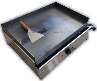 Plancha Bifera Electrica Ac Inox 2500w C/espatula Regalo Pre