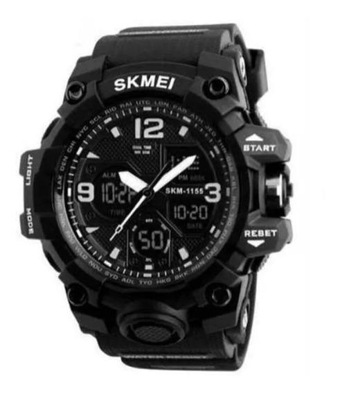 Relógio Masculino Esportivo Skmei 1155b - Preto