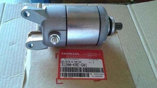 Motor De Partida Nxr160 Original Honda 2014 À 2017