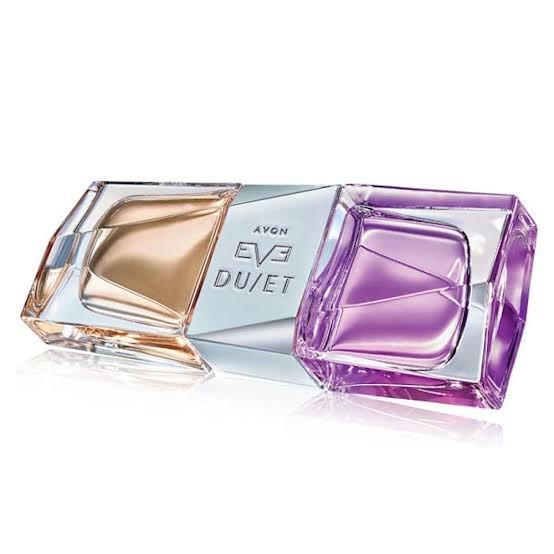 3 Unidades Eau De Parfum Eve Duet Avon 50ml
