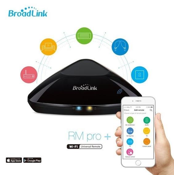Controle Remoto Broadlink Rm3 Pro+ Residencial Nova Versão