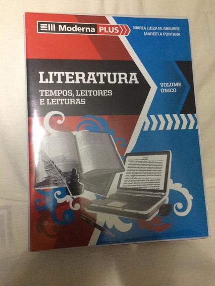 Livro Literatura Volume Único: Tempos, Leitorese Leituras