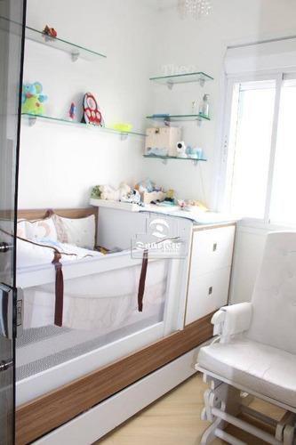 Cobertura Com 3 Dormitórios À Venda, 172 M² Por R$ 1.155.000,00 - Centro - São Bernardo Do Campo/sp - Co11332