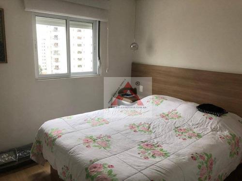 Apartamento Com 3 Dormitórios À Venda, 90 M² Por R$ 690.000,00 - Bosque Da Saúde - São Paulo/sp - Ap38423