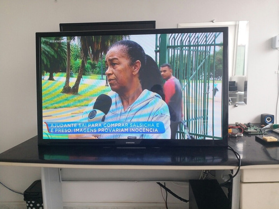 Tv Samsung 43 Polegadas New Plasma, Conversor Digital